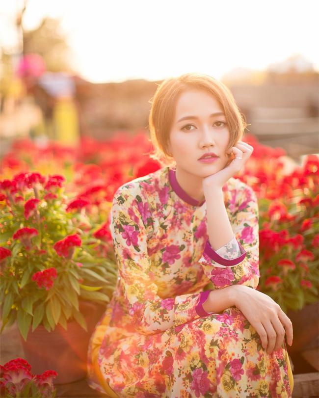 Hot girl Nhung Gumiho rực rỡ khoe sắc xuân - hình ảnh 5