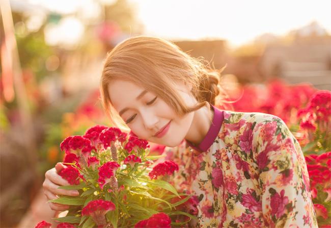 Hot girl Nhung Gumiho rực rỡ khoe sắc xuân - hình ảnh 6