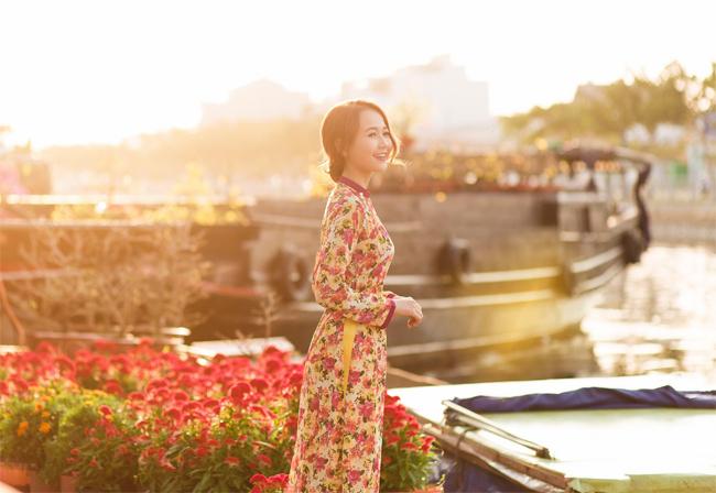 Hot girl Nhung Gumiho rực rỡ khoe sắc xuân - hình ảnh 7