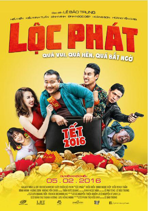 'Lộc Phát': Phim hành động hài 'hot' ngày Tết - hình ảnh 1
