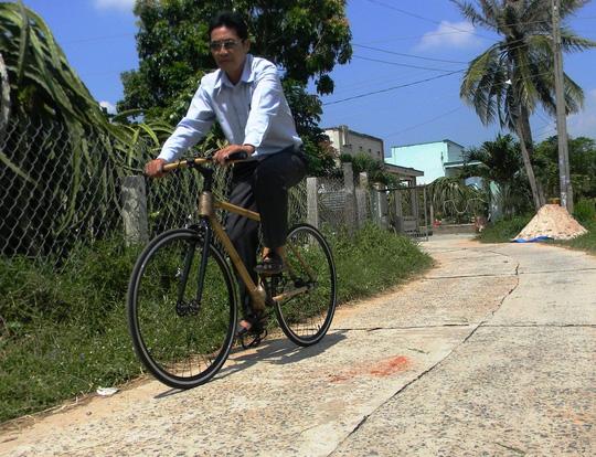 Xe đạp tre xuất ngoại - hình ảnh 2