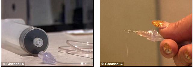 Người mẫu có vòng 1 khổng lồ vì tiêm nước muối vào ngực - hình ảnh 4