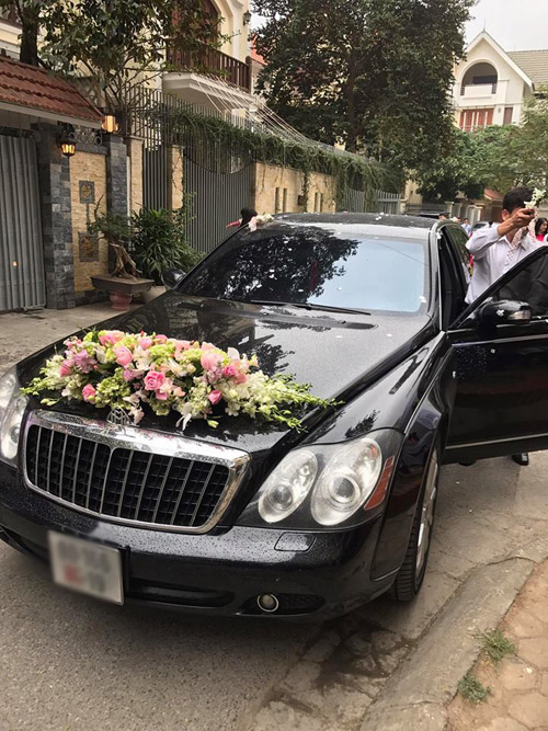 Choáng với dàn siêu xe trong đám cưới Hoa hậu Thu Ngân - hình ảnh 5