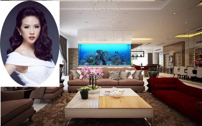 Choáng với biệt thự sang chảnh của Hoa hậu Thu Hoài - hình ảnh 1