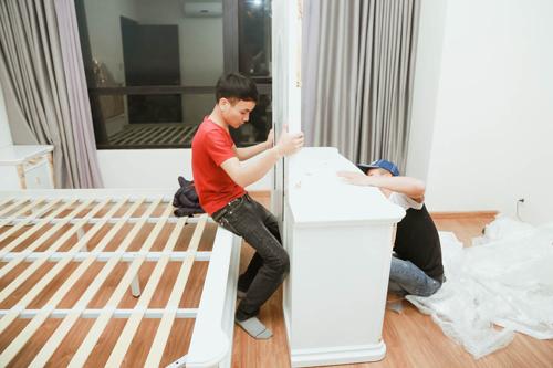 Cận cảnh căn hộ 4 tỷ Ngọc Sơn mua tặng mẹ ngày 8/3 - hình ảnh 6