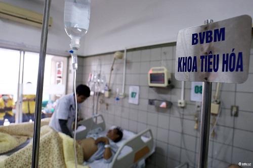 Chùm ảnh: Trói chặt bệnh nhân vào giường điều trị sảng rượu - hình ảnh 8