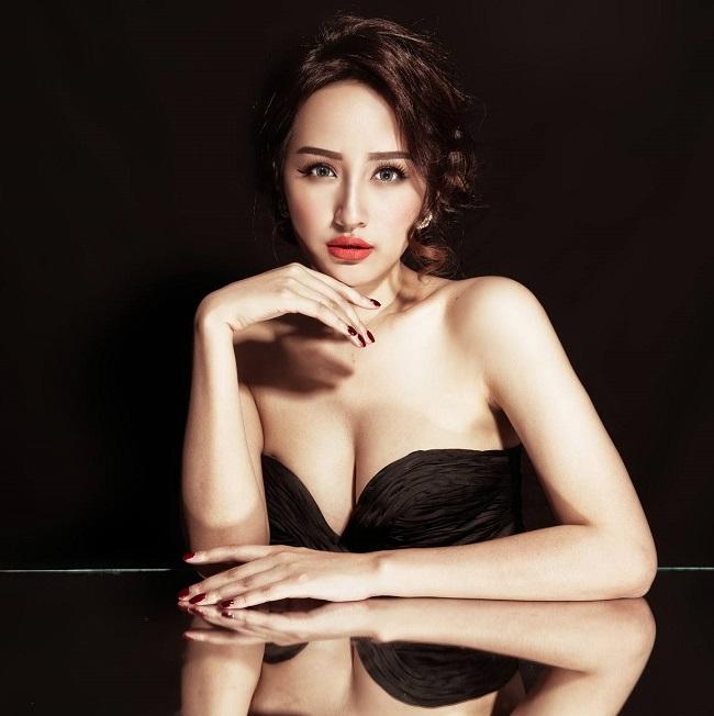 """Mai Phương Thúy, Phan Anh """"cần câm nảy mực"""" Hoa hậu Hoàn vũ Việt Nam - hình ảnh 1"""