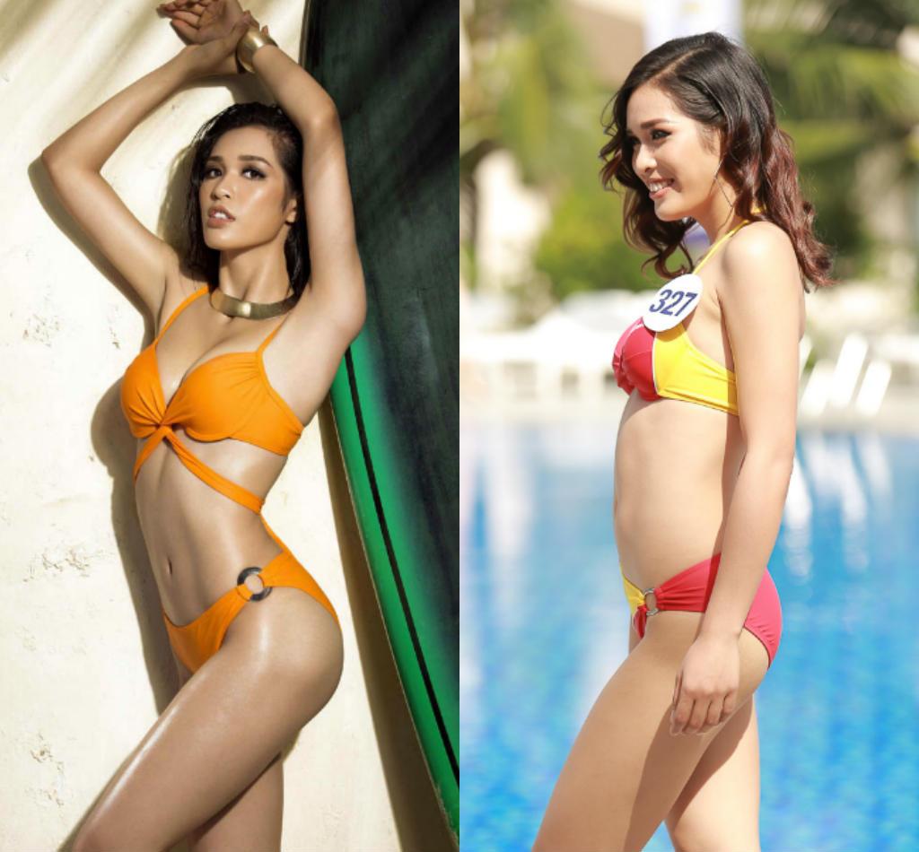 Lộ thân hình phốp pháp khác xa ảnh sửa của loạt ứng viên Hoa hậu Hoàn vũ VN - hình ảnh 1