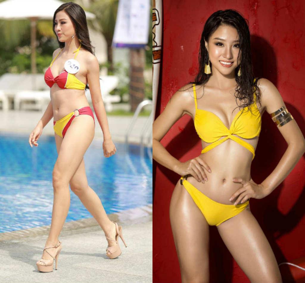 Lộ thân hình phốp pháp khác xa ảnh sửa của loạt ứng viên Hoa hậu Hoàn vũ VN - hình ảnh 6
