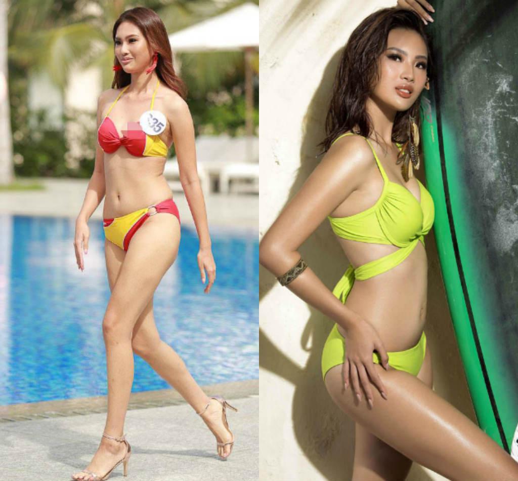 Lộ thân hình phốp pháp khác xa ảnh sửa của loạt ứng viên Hoa hậu Hoàn vũ VN - hình ảnh 5