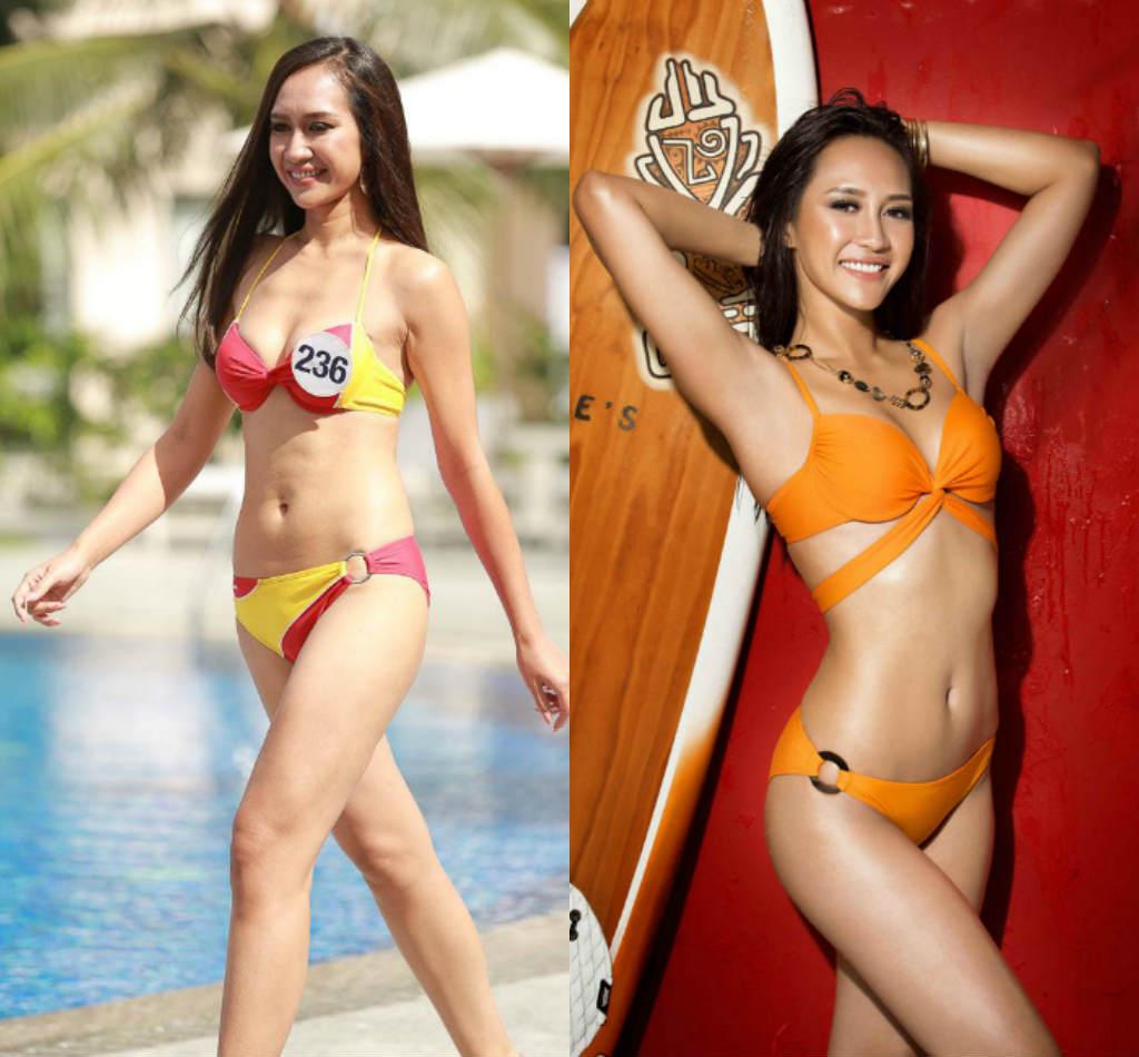 Lộ thân hình phốp pháp khác xa ảnh sửa của loạt ứng viên Hoa hậu Hoàn vũ VN - hình ảnh 4