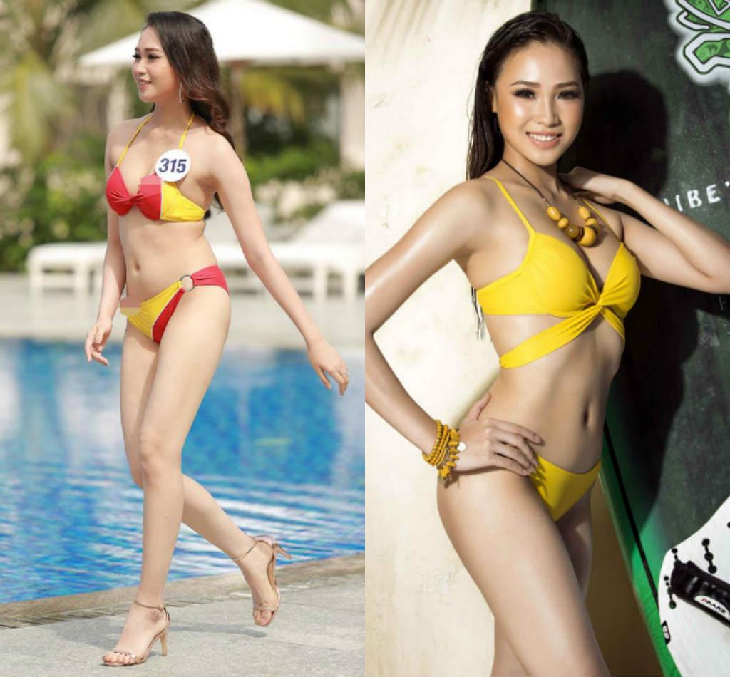 Lộ thân hình phốp pháp khác xa ảnh sửa của loạt ứng viên Hoa hậu Hoàn vũ VN - hình ảnh 7
