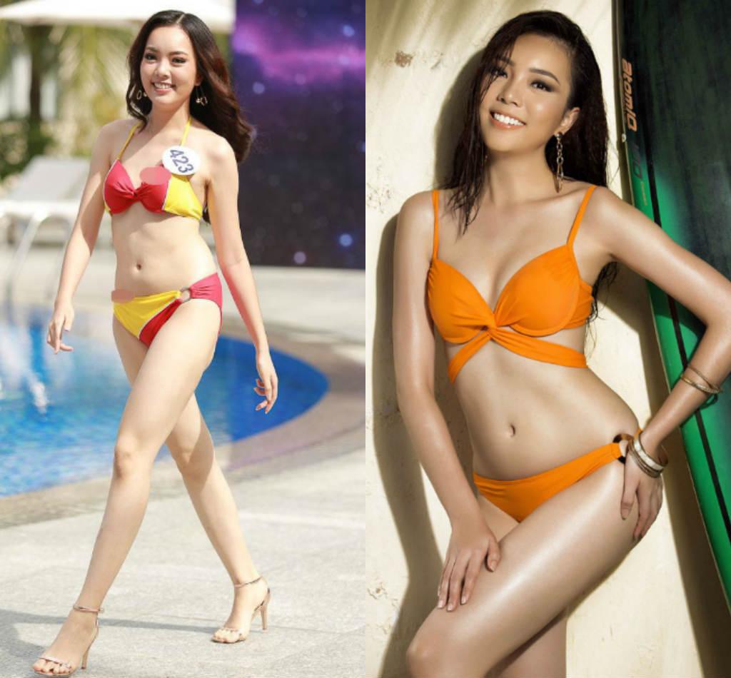 Lộ thân hình phốp pháp khác xa ảnh sửa của loạt ứng viên Hoa hậu Hoàn vũ VN - hình ảnh 8