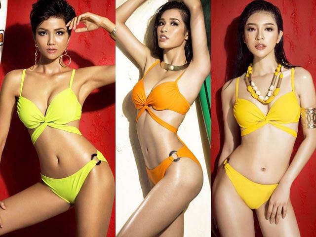 Thí sinh HH Hoàn vũ VN mặc bikini lộ mỡ: Chân tay tôi không thểcong vòng vậy được! - hình ảnh 4