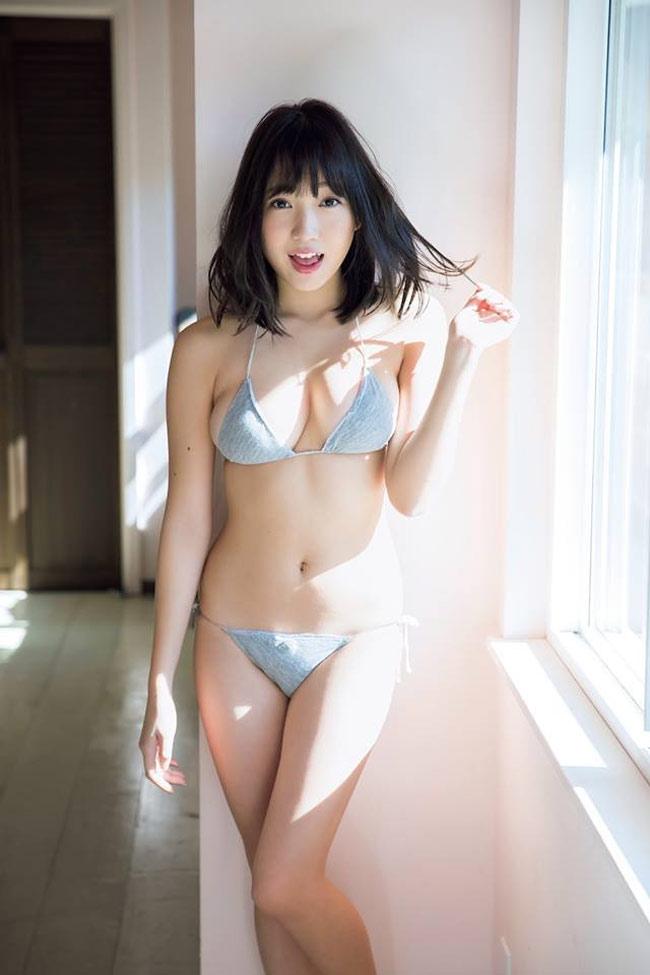 """Bikini """"khiêm tốn vải"""", mặc cho có của các cô gái Nhật Bản - hình ảnh 4"""