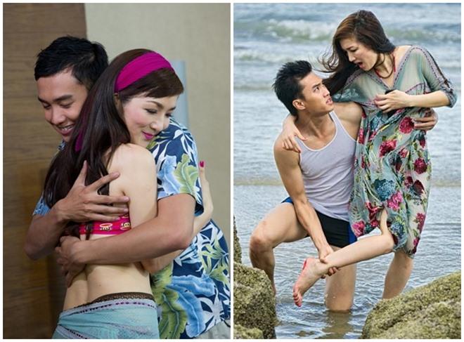 Những cảnh táo bạo của Hoa hậu Việt khiến người xem đỏ mặt - hình ảnh 3