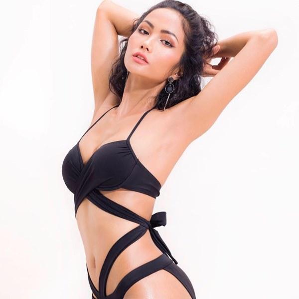Tân Hoa hậu Hoàn vũ Việt Nam thuở tóc dài xinh như búp bê - hình ảnh 4