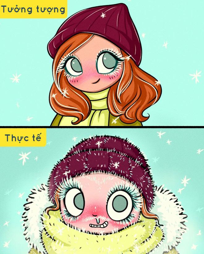 Nỗi khổ của các nàng sexy khi mùa đông đến - hình ảnh 6