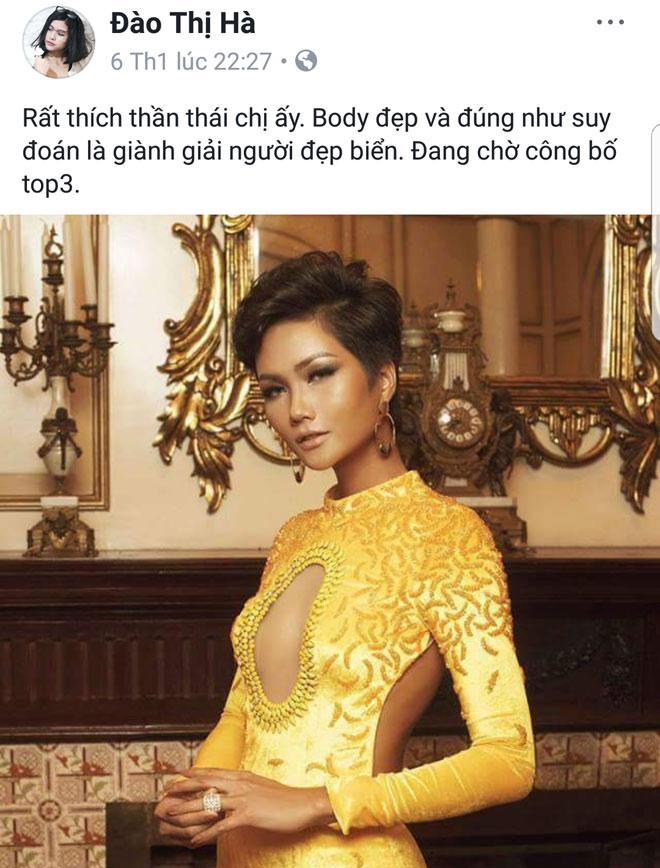 Người đẹp Biển Hoa hậu Việt Nam lên tiếng việc mỉa mai hoa hậu H'Hen Niê - hình ảnh 2