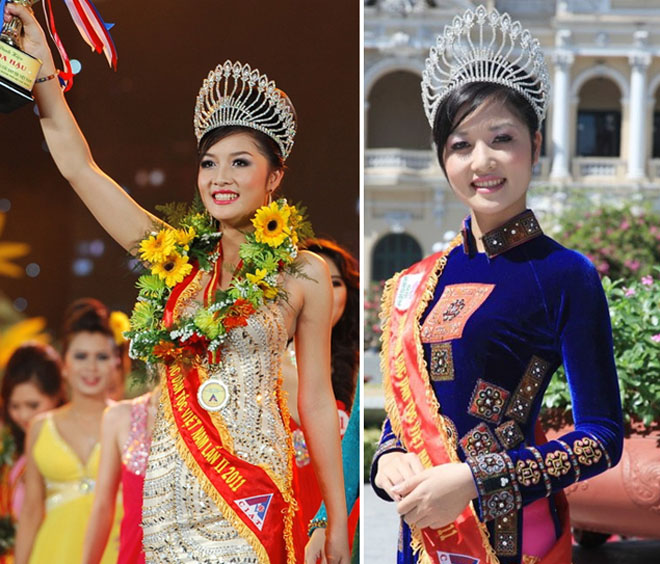 """3 mỹ nữ dân tộc đẹp lạ từng """"khuynh đảo"""" các cuộc thi hoa hậu Việt - hình ảnh 3"""
