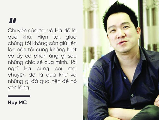 """Huy MC trần tình về """"cuộc tình tội lỗi với Hà Hồ"""" sau 1 năm phát ngôn gây sốc - hình ảnh 3"""