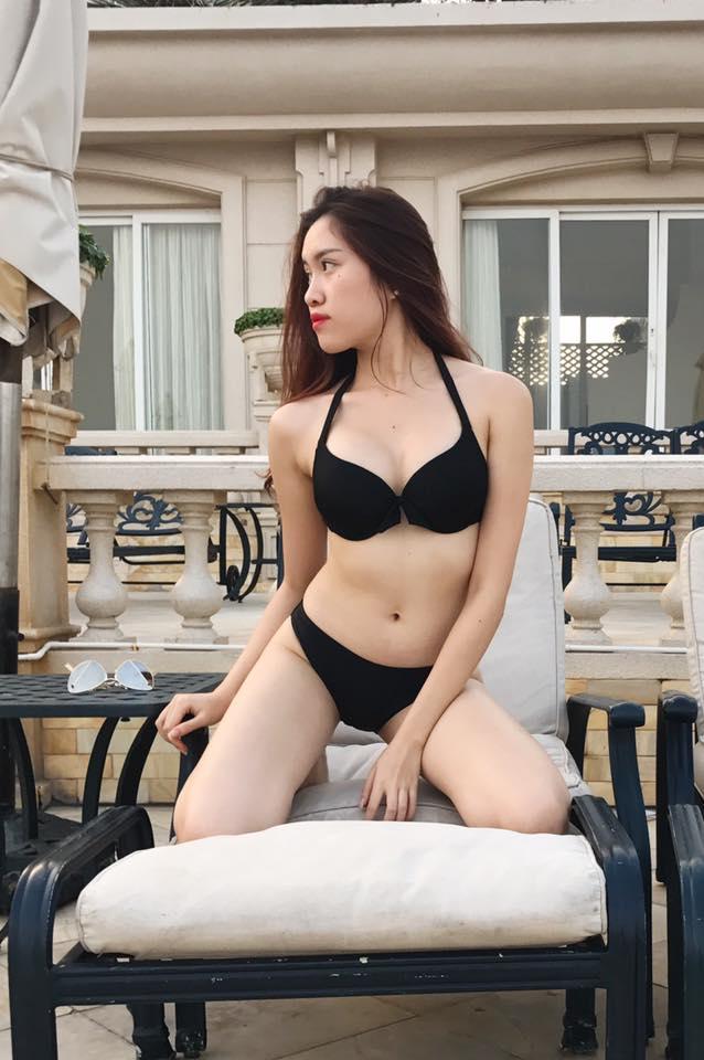 Gu mặc gợi cảm của nữ MC nóng bỏng nhất VTV từng thi hoa hậu - hình ảnh 4