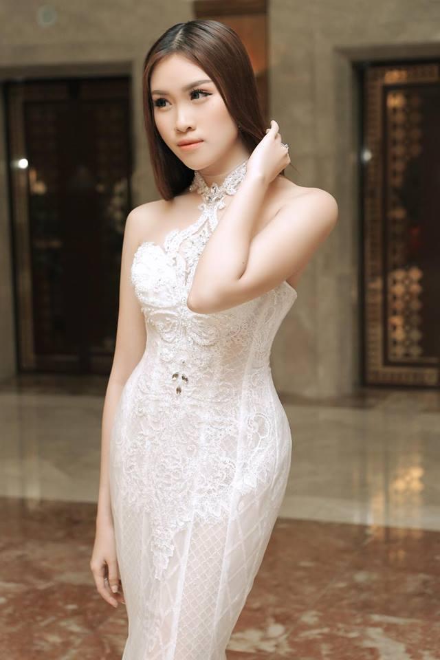 Gu mặc gợi cảm của nữ MC nóng bỏng nhất VTV từng thi hoa hậu - hình ảnh 13