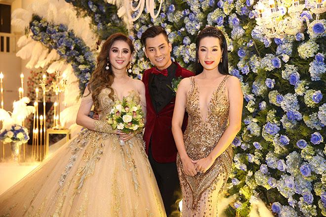 Dàn sao Việt dự đám cưới của Lâm Khánh Chi tại Sài Gòn - hình ảnh 4