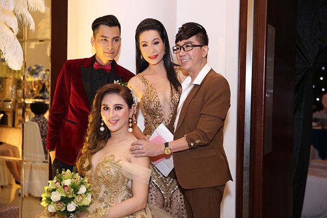 Dàn sao Việt dự đám cưới của Lâm Khánh Chi tại Sài Gòn - hình ảnh 5