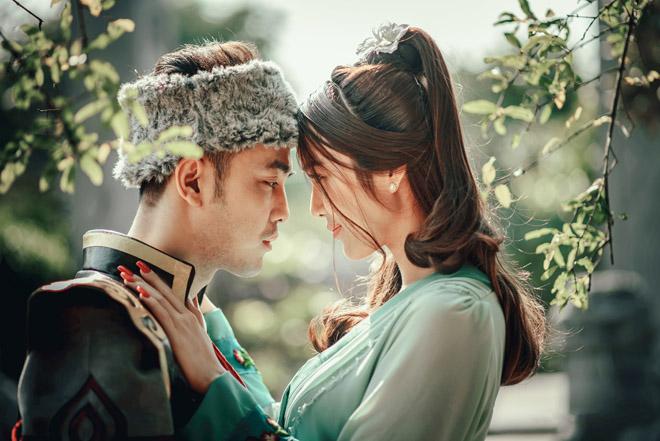 """Vợ chồng Ưng Hoàng Phúc hóa """"Quách Tĩnh, Hoàng Dung"""" trong MV cổ trang - hình ảnh 6"""