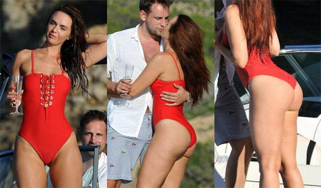Đứng hình vì bikini nhỏ xíu của người đẹp có vòng 3 hot nhất Anh quốc - hình ảnh 13