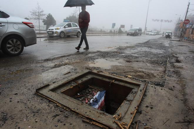 """Những con đường """"đau khổ"""" ở Sa Pa mờ sương - hình ảnh 9"""