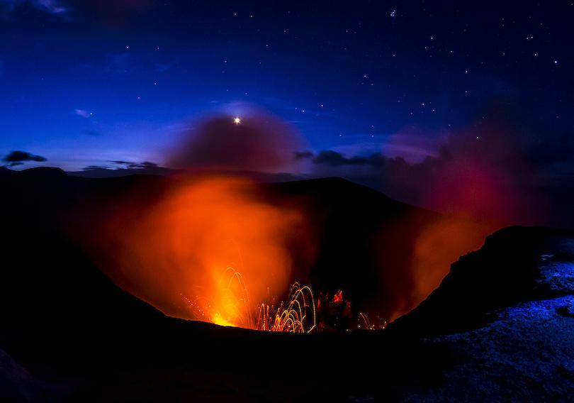 Kinh ngạc ngắm nhìn những ngọn núi lửa đẹp nhất hành tinh - hình ảnh 1