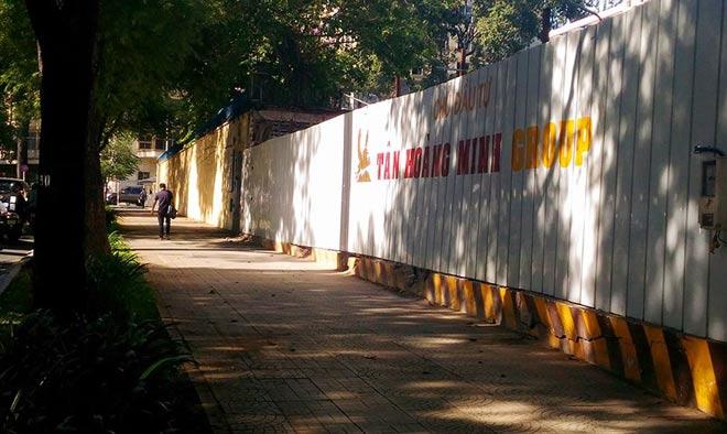 """Sau """"lệnh"""" của ông Đoàn Ngọc Hải, nhiều bãi giữ xe đóng cửa gấp - hình ảnh 5"""