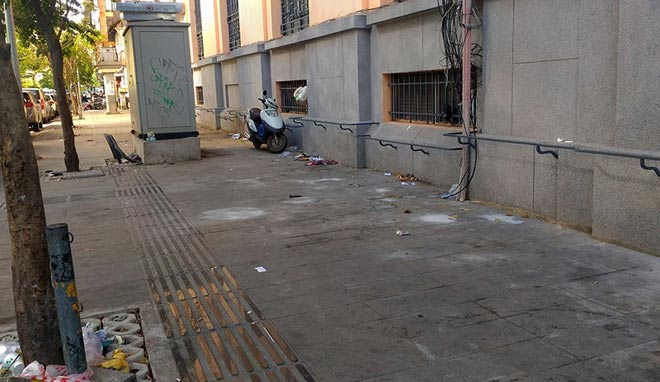 """Sau """"lệnh"""" của ông Đoàn Ngọc Hải, nhiều bãi giữ xe đóng cửa gấp - hình ảnh 6"""