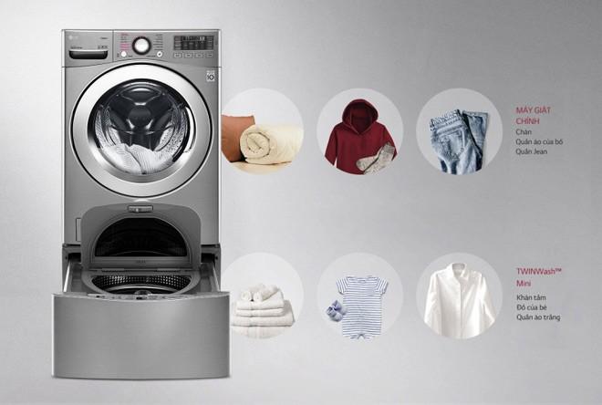 Bộ tứ máy giặt lồng đôi cao cấp nhất đã về thị trường Việt Nam - 2