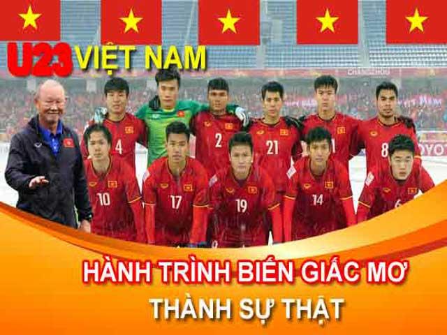 U23 Việt Nam: Hành trình trải bước trên hoa hồng và giấc mơ có thật