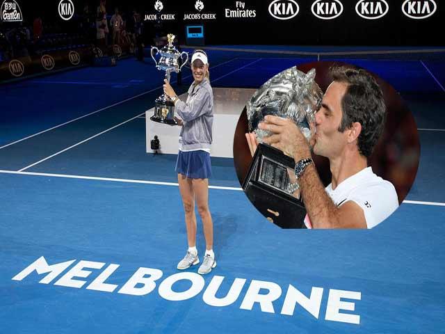 """Vua Federer cũng chỉ """"làm nền"""" 10 tuyệt phẩm này ở Australian Open"""