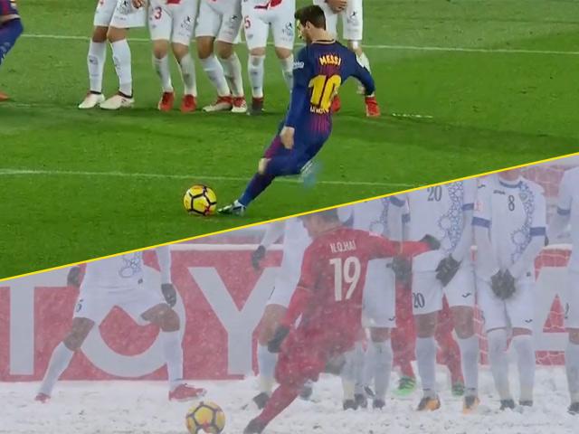 Bàn thắng đẹp vòng 21 La Liga: Messi & siêu phẩm y hệt Quang Hải