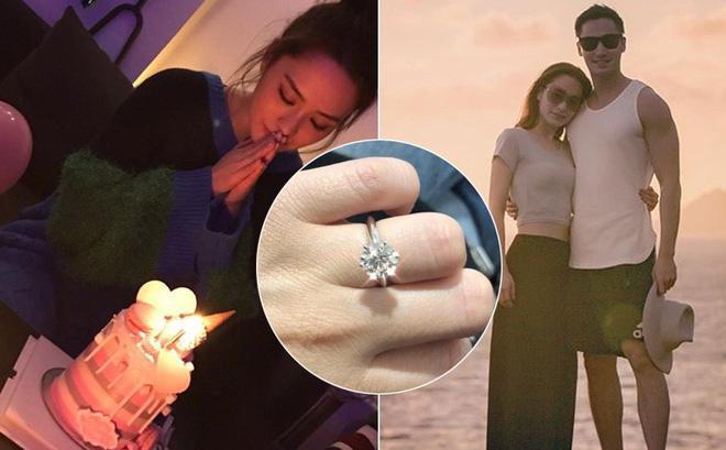"""Chung Hân Đồng bị vợ cũ của chồng sắp cưới """"quấy rầy"""" - 1"""
