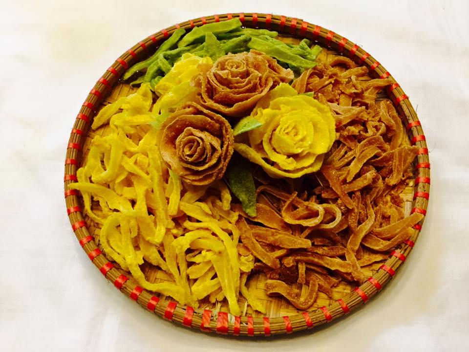 Cách làm mứt khoai tây hoa hồng đẹp mắt, dẻo ngon cho ngày Tết - 1