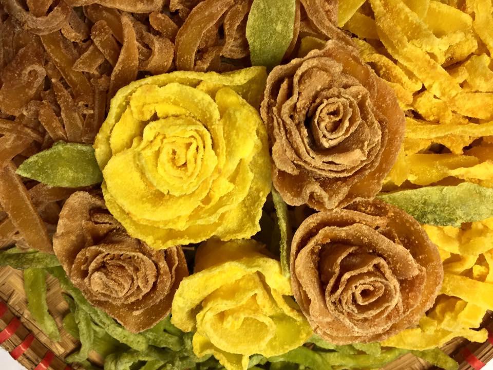 Cách làm mứt khoai tây hoa hồng đẹp mắt, dẻo ngon cho ngày Tết - 13