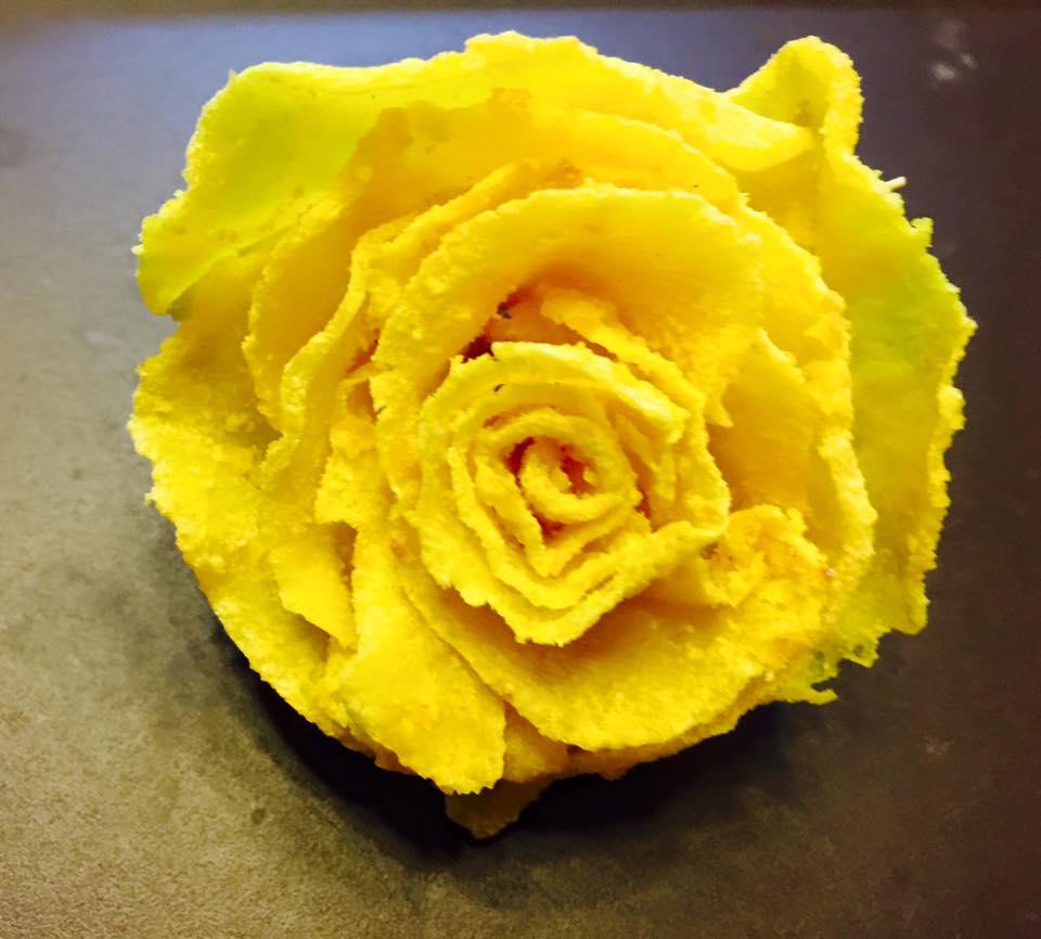 Cách làm mứt khoai tây hoa hồng đẹp mắt, dẻo ngon cho ngày Tết - 12