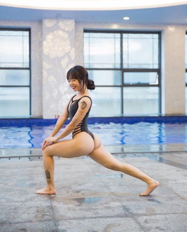 """Tuyệt chiêu giảm cân siêu dễ của """"nữ hoàng phòng gym"""" - hình ảnh 5"""