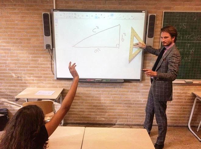 Lại thêm một thầy giáo dạy toán sở hữu thân hình siêu mẫu - hình ảnh 2