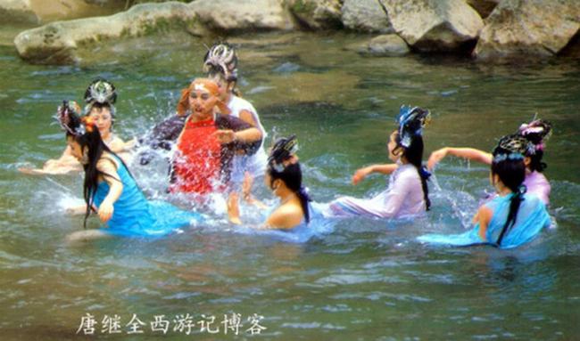 Hé lộ sự thật những cảnh tắm suối trong Tây Du Ký qua nhiều phiên bản - hình ảnh 1