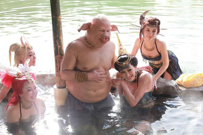 Hé lộ sự thật những cảnh tắm suối trong Tây Du Ký qua nhiều phiên bản - hình ảnh 19