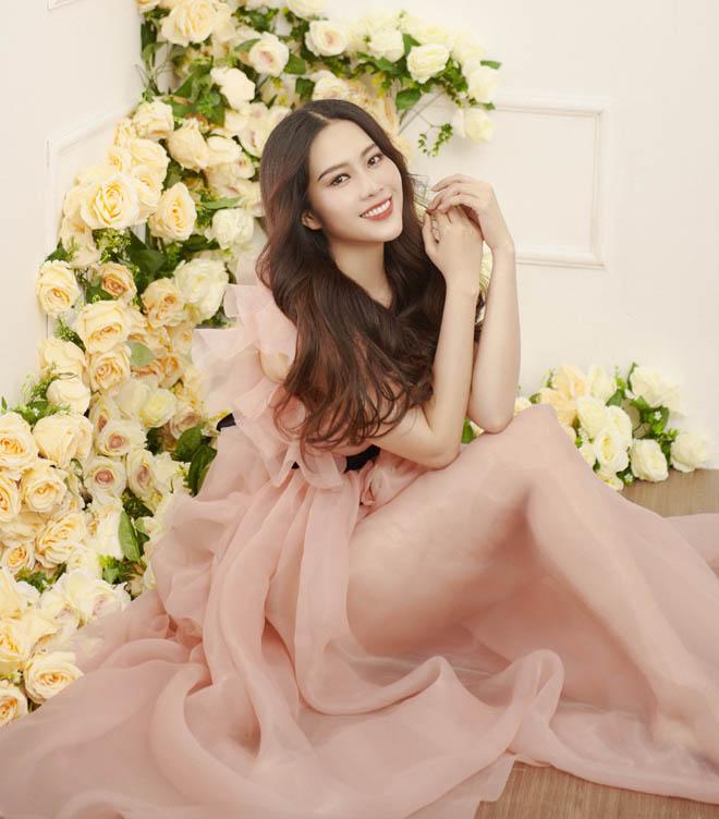 Hoa khôi Nam Em mặc mỏng manh như sương mai đón Tết Mậu Tuất - hình ảnh 6