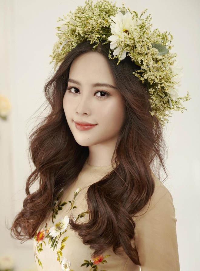 Hoa khôi Nam Em mặc mỏng manh như sương mai đón Tết Mậu Tuất - hình ảnh 9