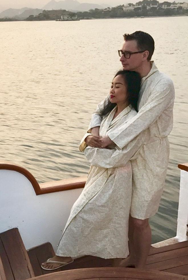 Vợ chồng Đoan Trang đón lễ tình nhân xa hoa tại Ấn Độ - hình ảnh 6
